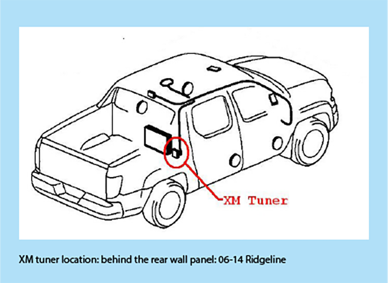 ridgeline_rearwall bt45 hon3 bluetooth music phone interface for Honda Ridgeline Fuse Box Wiring Diagram at gsmx.co