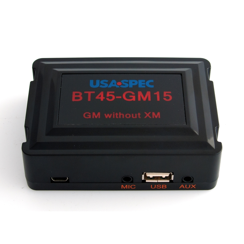 USB HUMMER PHONE AUX FOR CHEVY GMC USA SPEC BT45-GM15 BLUETOOTH CADILLAC